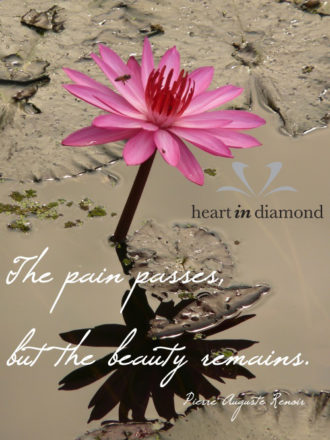 Heart In Diamond - Quote of the week