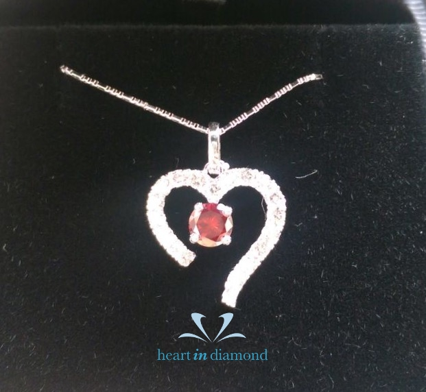 Heart In Diamond - Client's testimonial