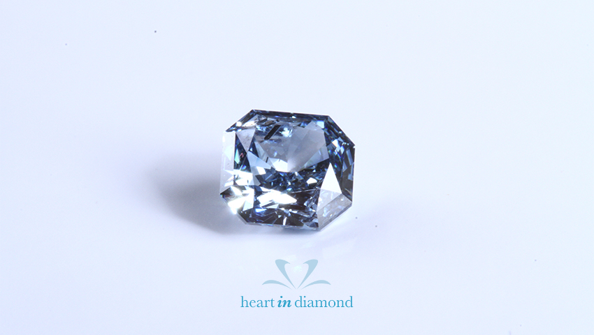 diamonds made from ashes in green