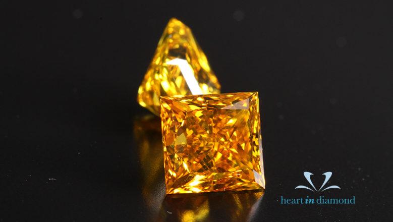 Two-princess-orange-yellow-diamonds