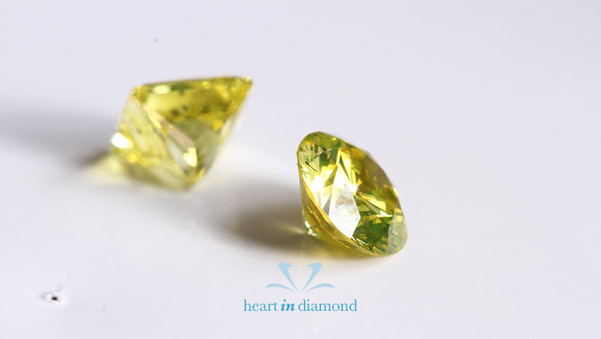 Two historical yellow diamonds