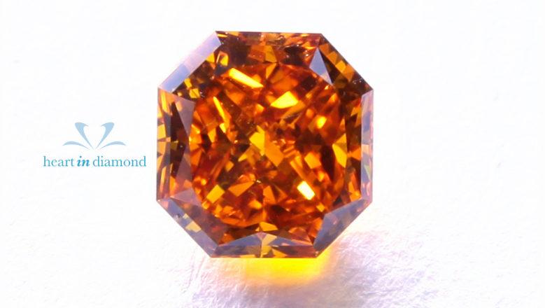 Large Asscher cut diamond