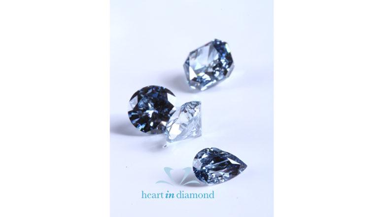 White Pear, Radiant & Briliiant Cut Diamonds