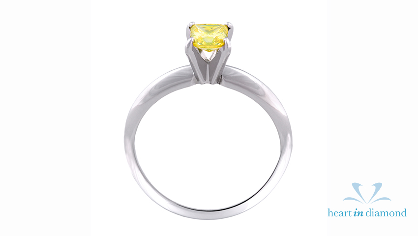 greenish yellow radiant ring