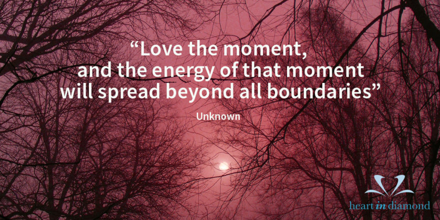 quote heartndiamond love the-moment